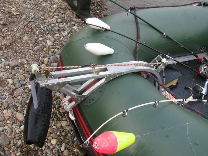 Как сделать лебедку для лодки