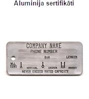 aluminija sertifikati
